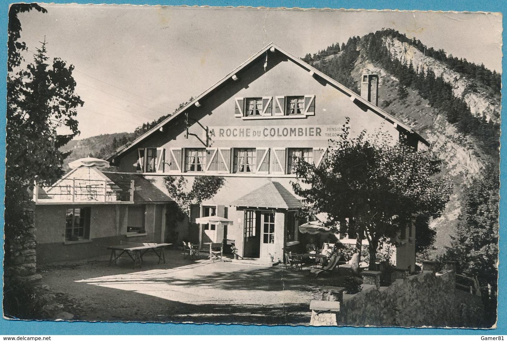 VILLARD-DE-LANS - La Roche Du Colombier - Photo Véritable Circulé 1960 - Villard-de-Lans