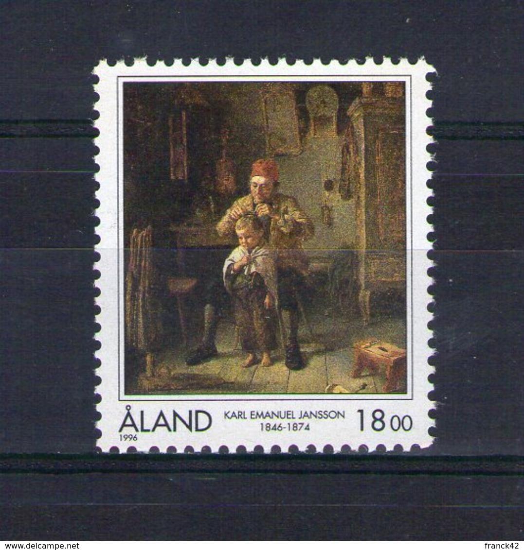 Aland. Peintre Finnois Karl Emmanuel Jansson - Aland