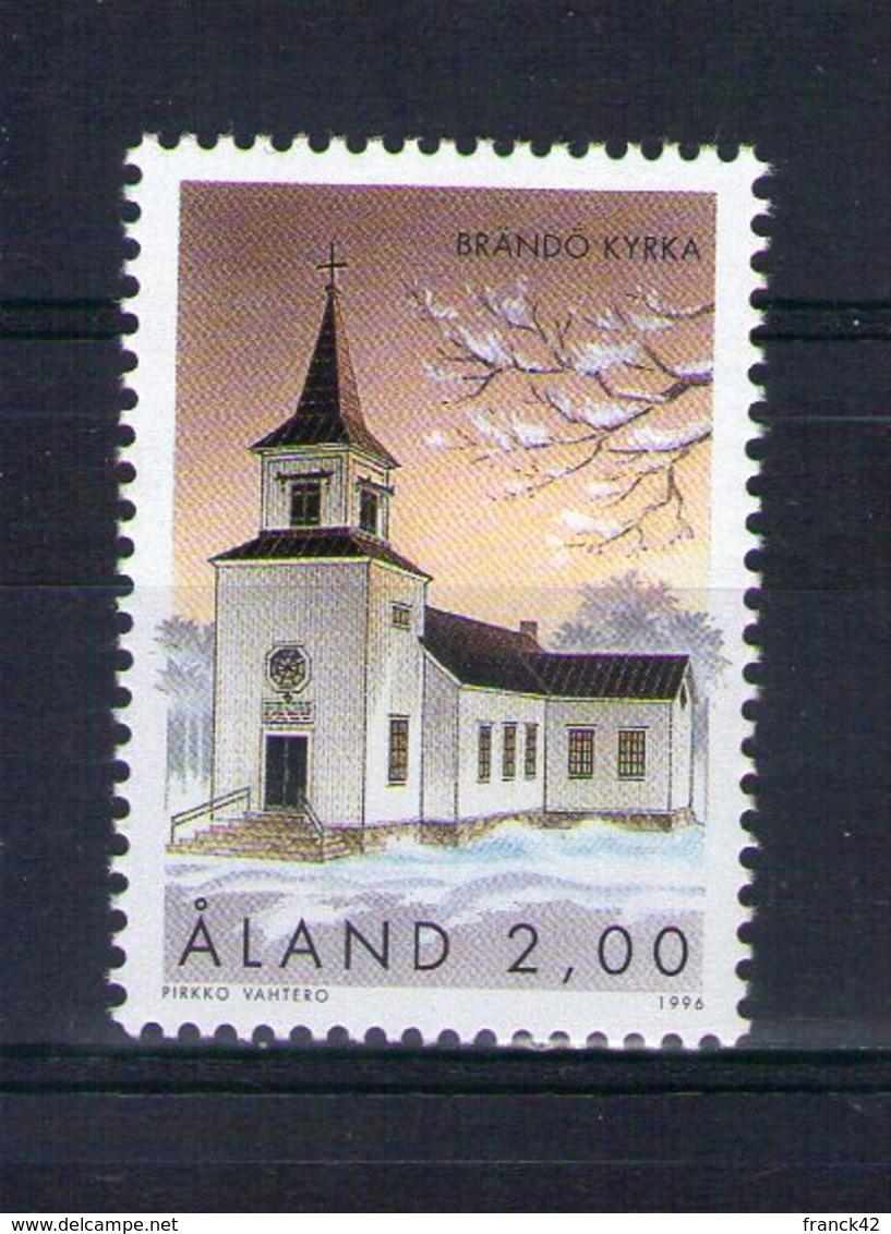 Aland. église De Brando - Aland