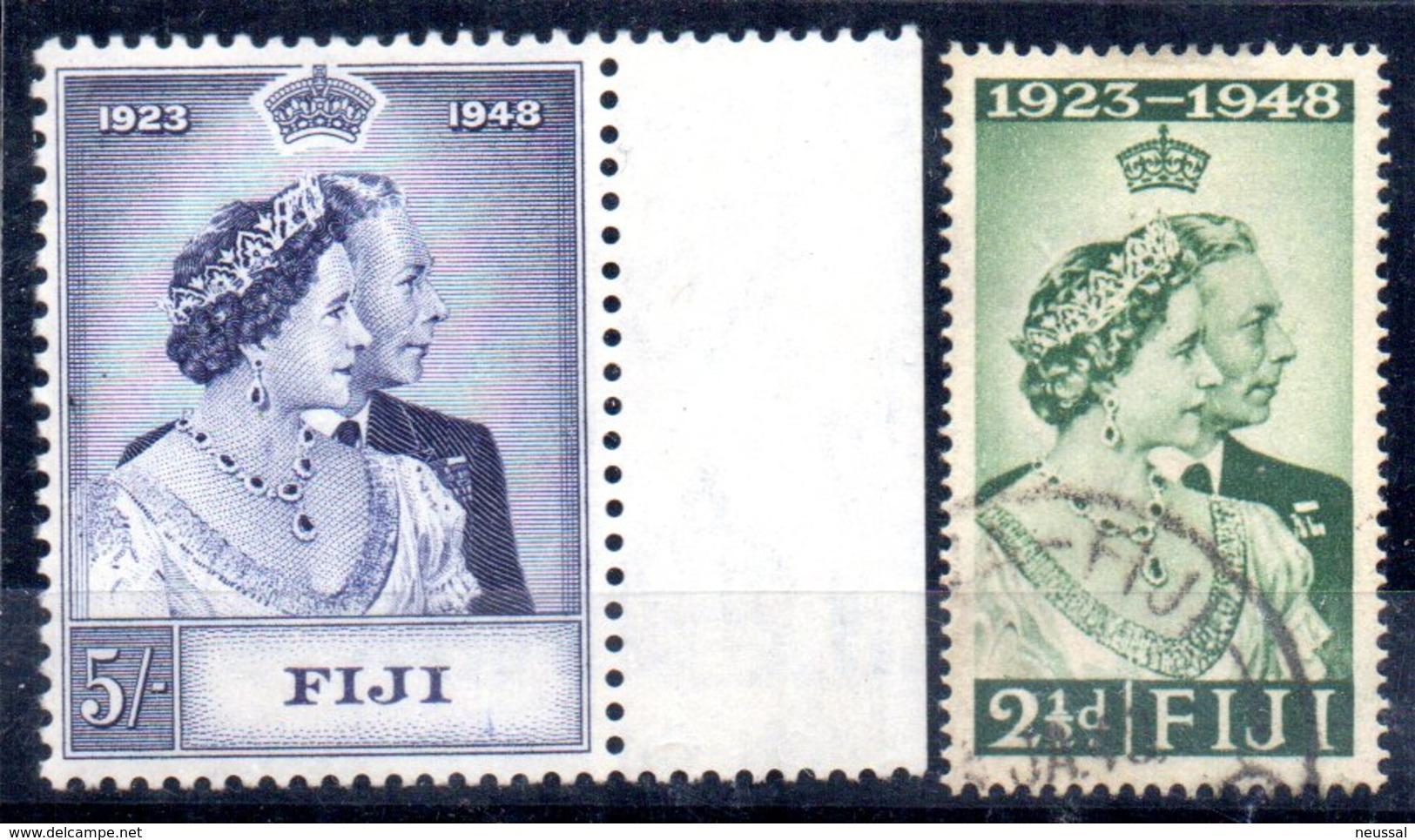 Serie  Nº 127/8  Fiji - Fiji (...-1970)