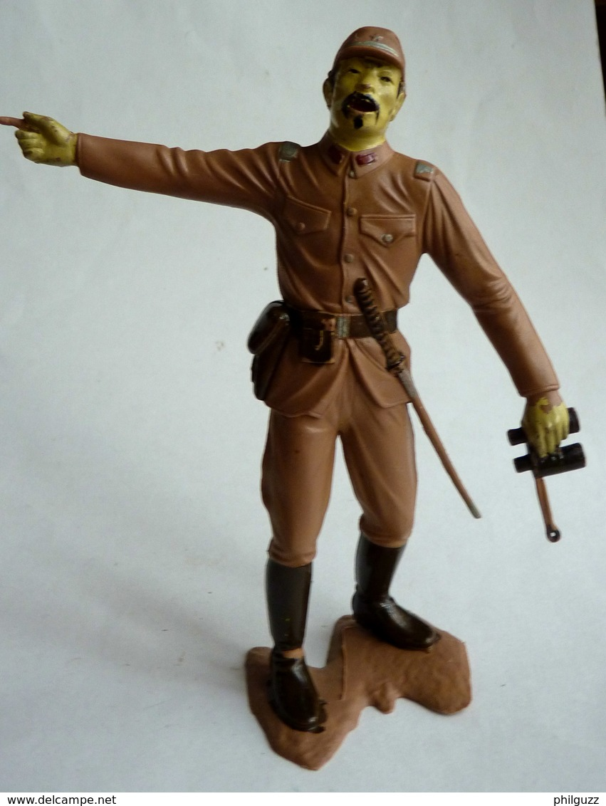 FIGURINE MARX - OFFICIER JAPONNAIS WWII - Vers 1965 - Figurines