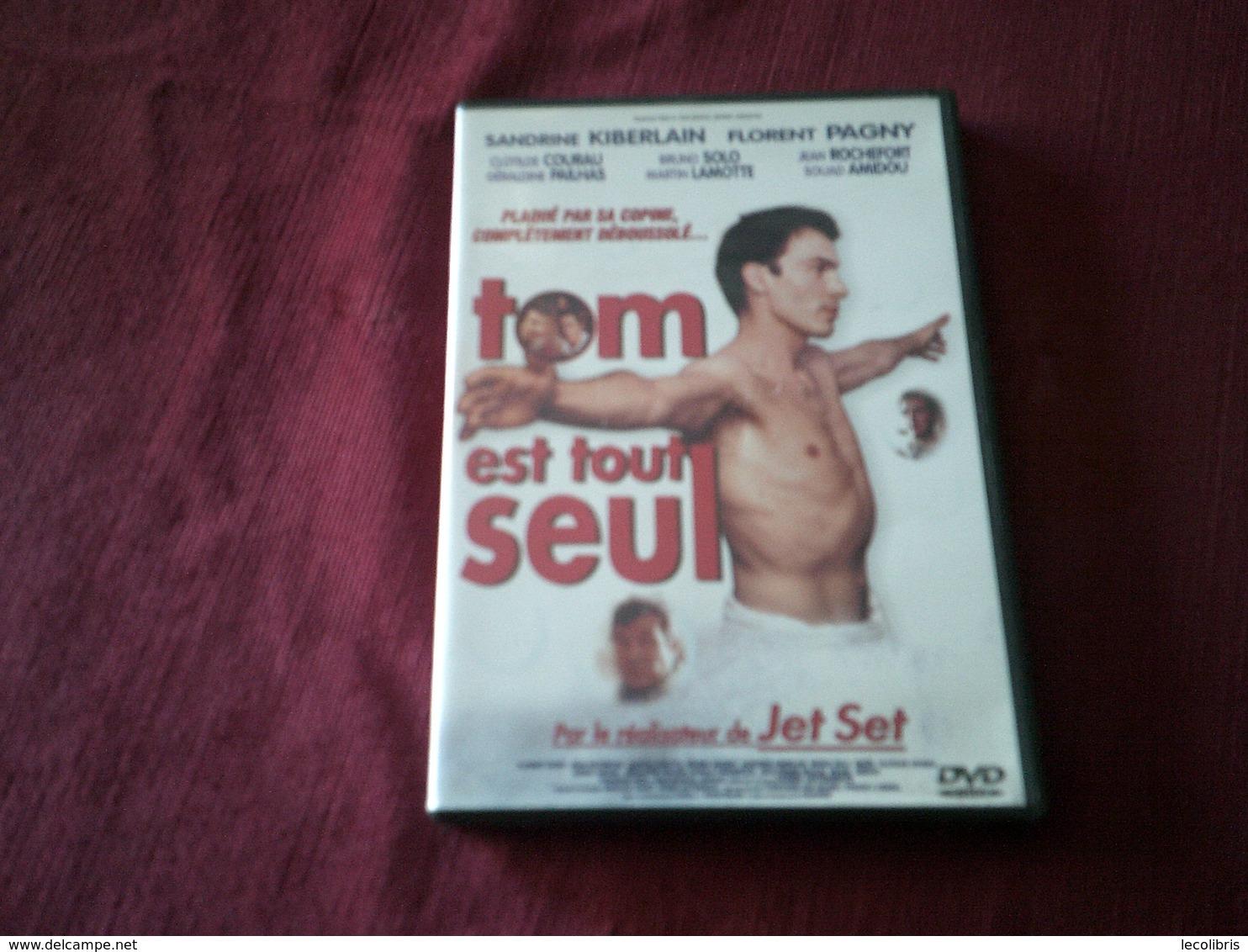 TOM EST TOUT SEUL ° AVEC FLORENT PAGNY  / SANDRINE KIBERLAIN / JEAN ROCHEFORT  ++++++ - Comédie