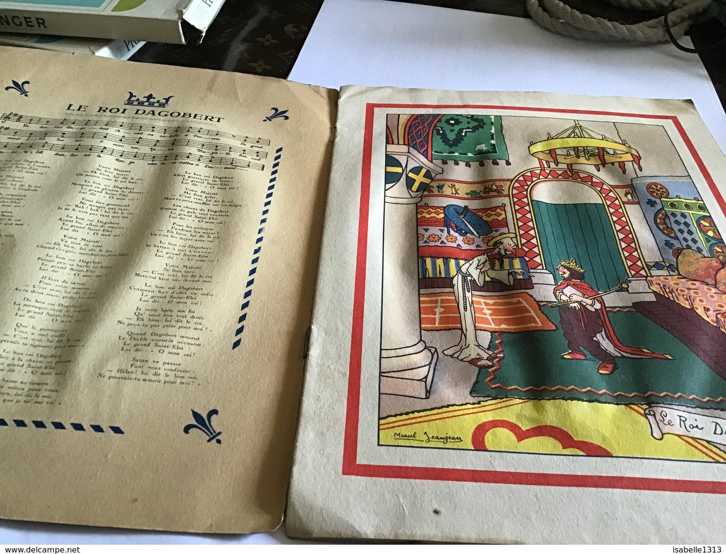 Vieille Chanson De France  Illustré Par Marcel Jean Jean En L état - Livres, BD, Revues