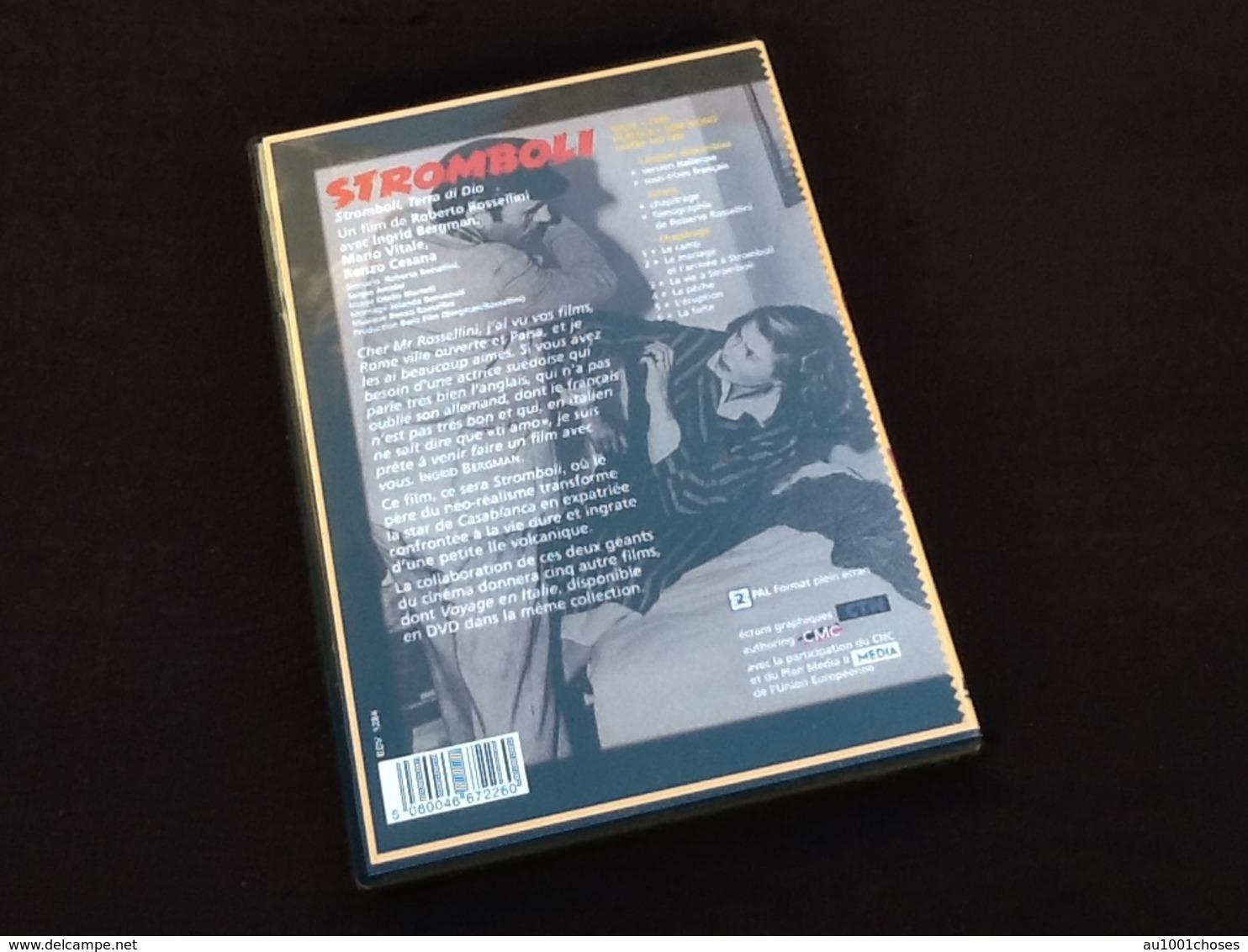 DVD  Stromboli   Ingrid Bergman  Roberto  Rossellini  Collection Ciné-Club - DVD