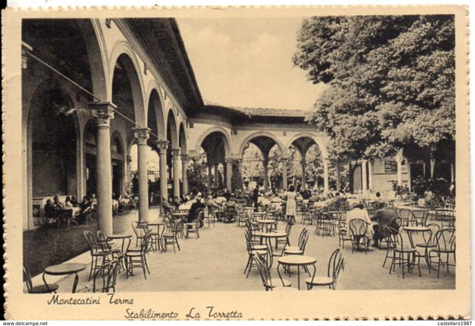 Montecatini Terme - Stabilimento La Torretta - Italia