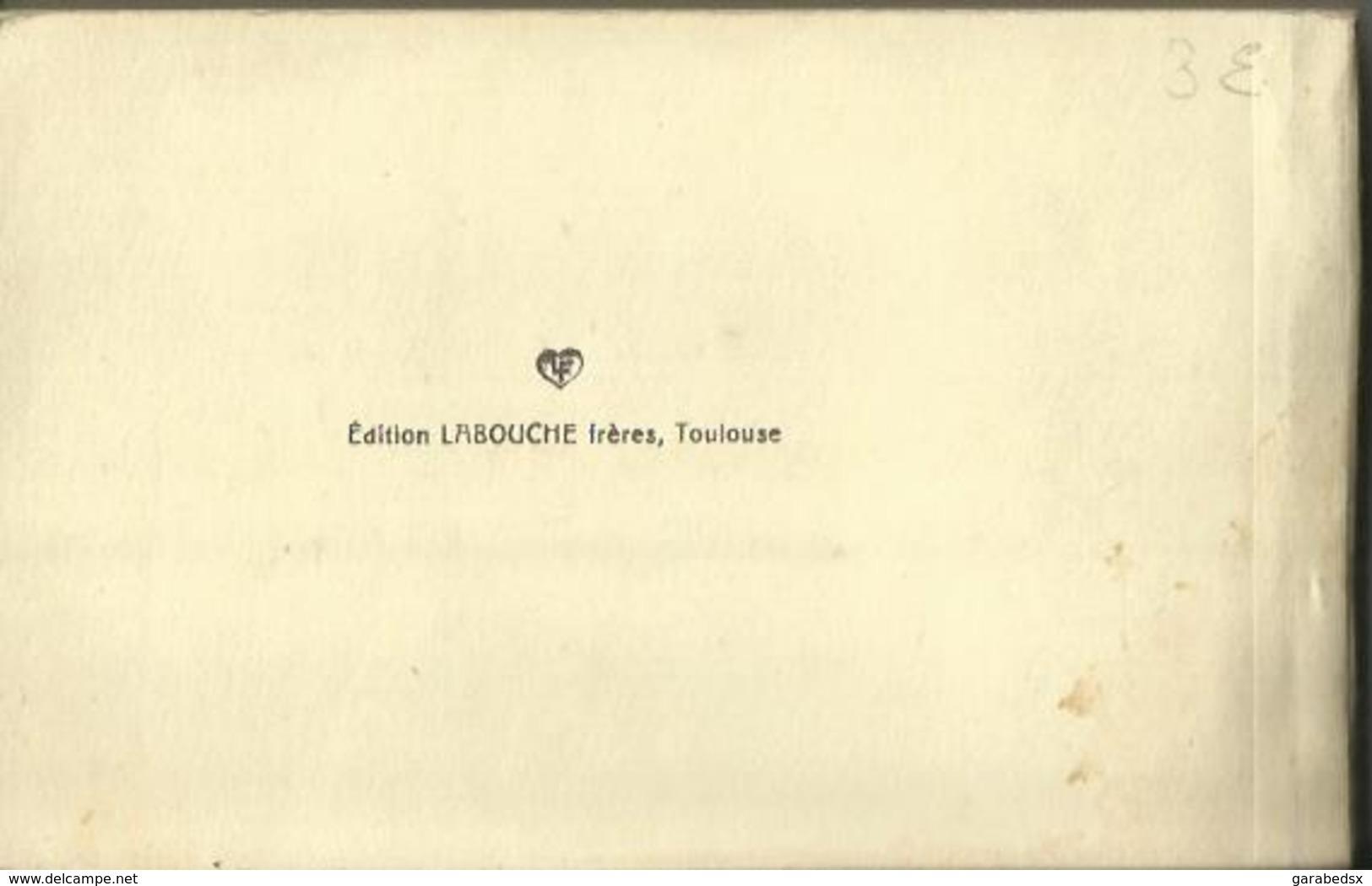 CARNET Complet De 36 Cartes Postales Anciennes Mon Voyage Aux PYRENEES (Héliogravure Labouche). - Non Classés