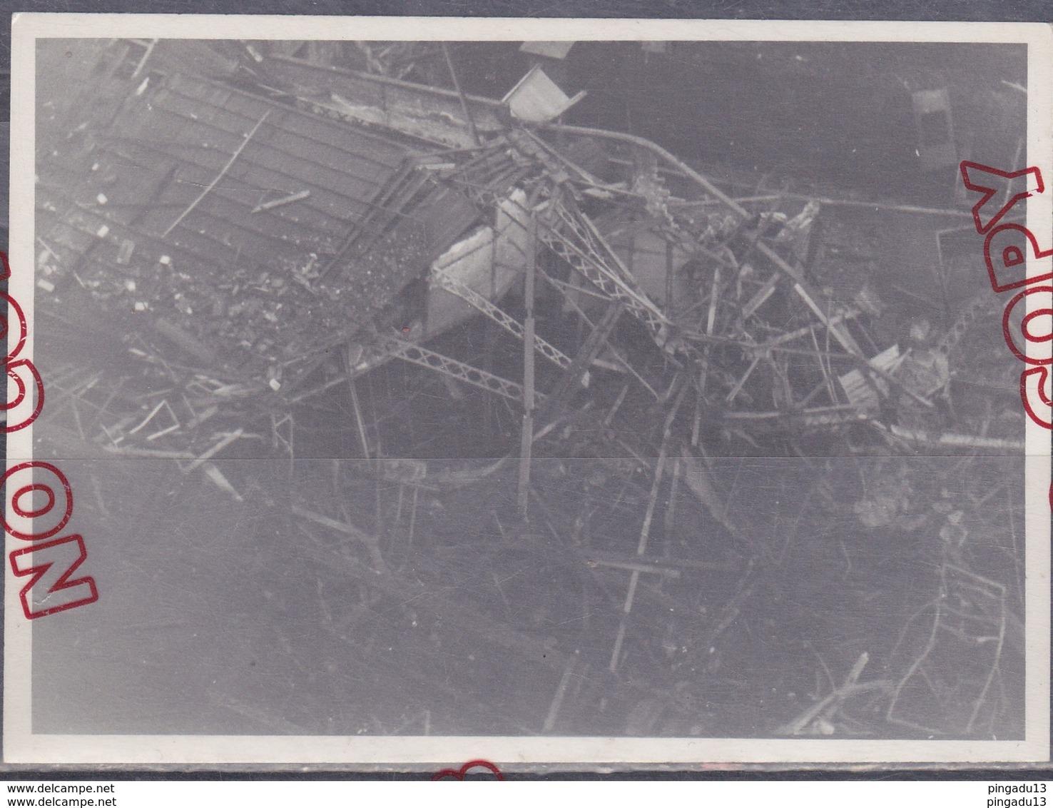 Au Plus Rapide Sapeur Pompier Paris Sapeurs-pompiers Bombardement 2 E Guerre Mondiale SKF Ivry 31 Déc 1943 - Pompiers