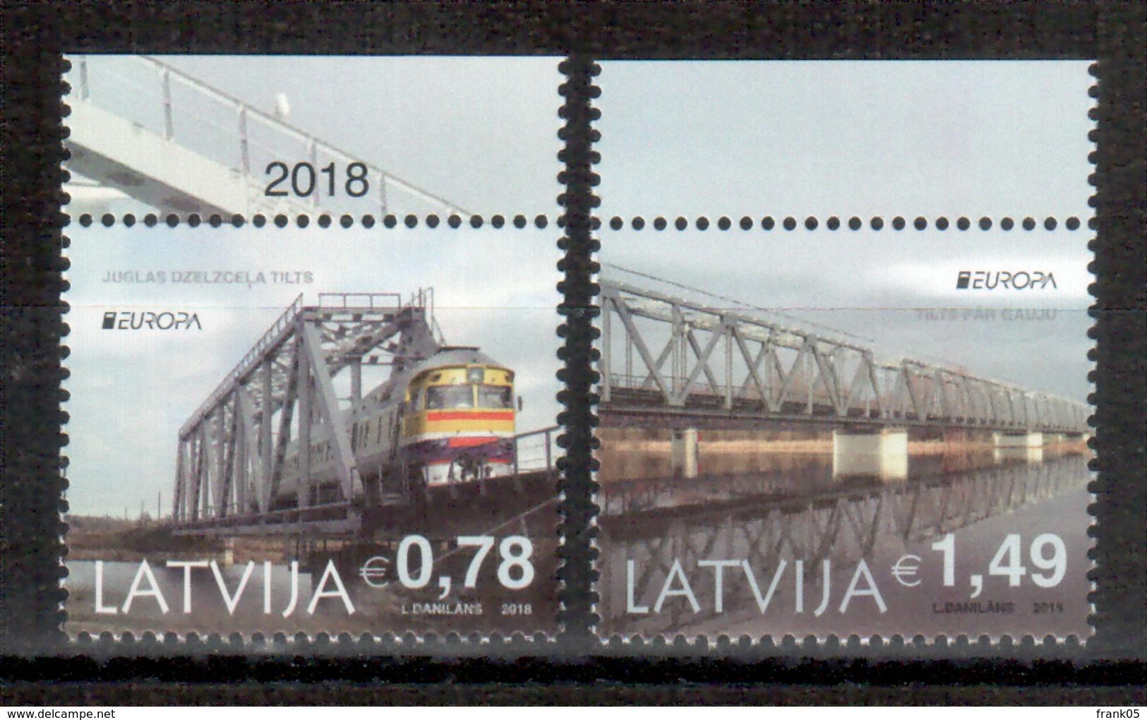 Lettland / Latvia / Lettonie 2018 Satz/set EUROPA ** - 2018
