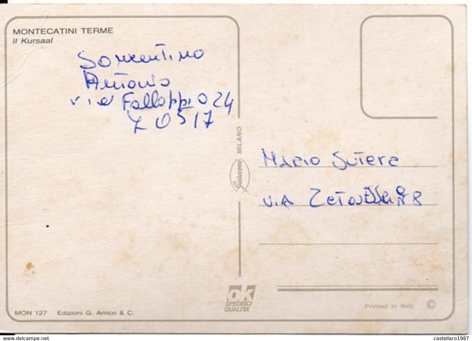 MONTECATINI TERME - Il Kursaal - Italia