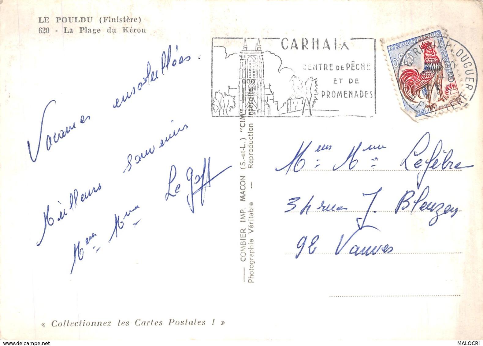 29-LE POULDU-N°1074-B/0335 - Le Pouldu