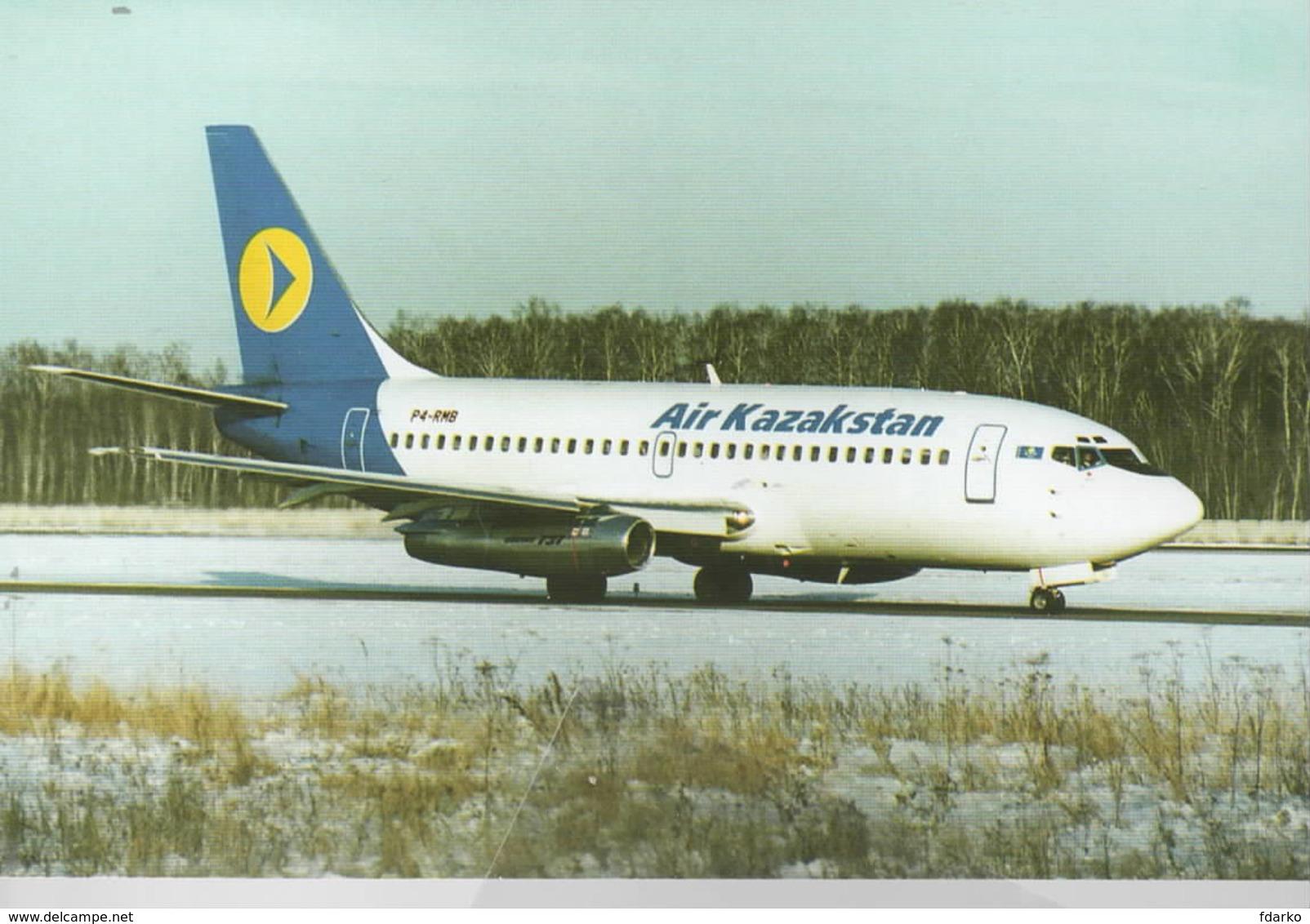 AIR Kazakstan B.737-200  P4-RMB - 1946-....: Era Moderna