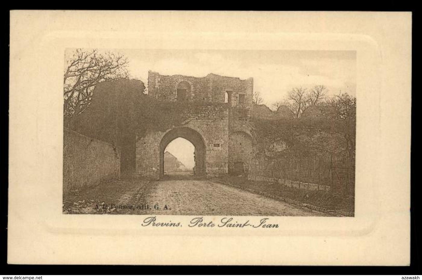 77 - Provins Porte Sant Jean #10508 - Provins