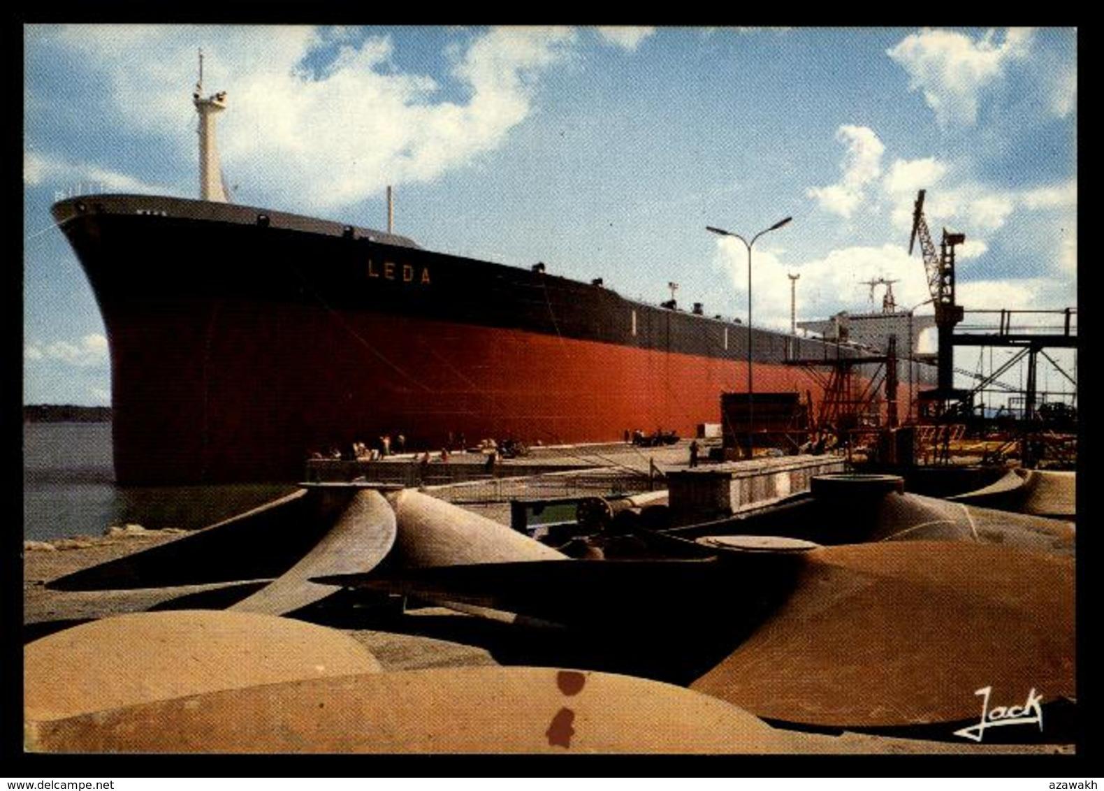 29 - Brest - Le Port Pétrolier LEDA #10158 - Brest