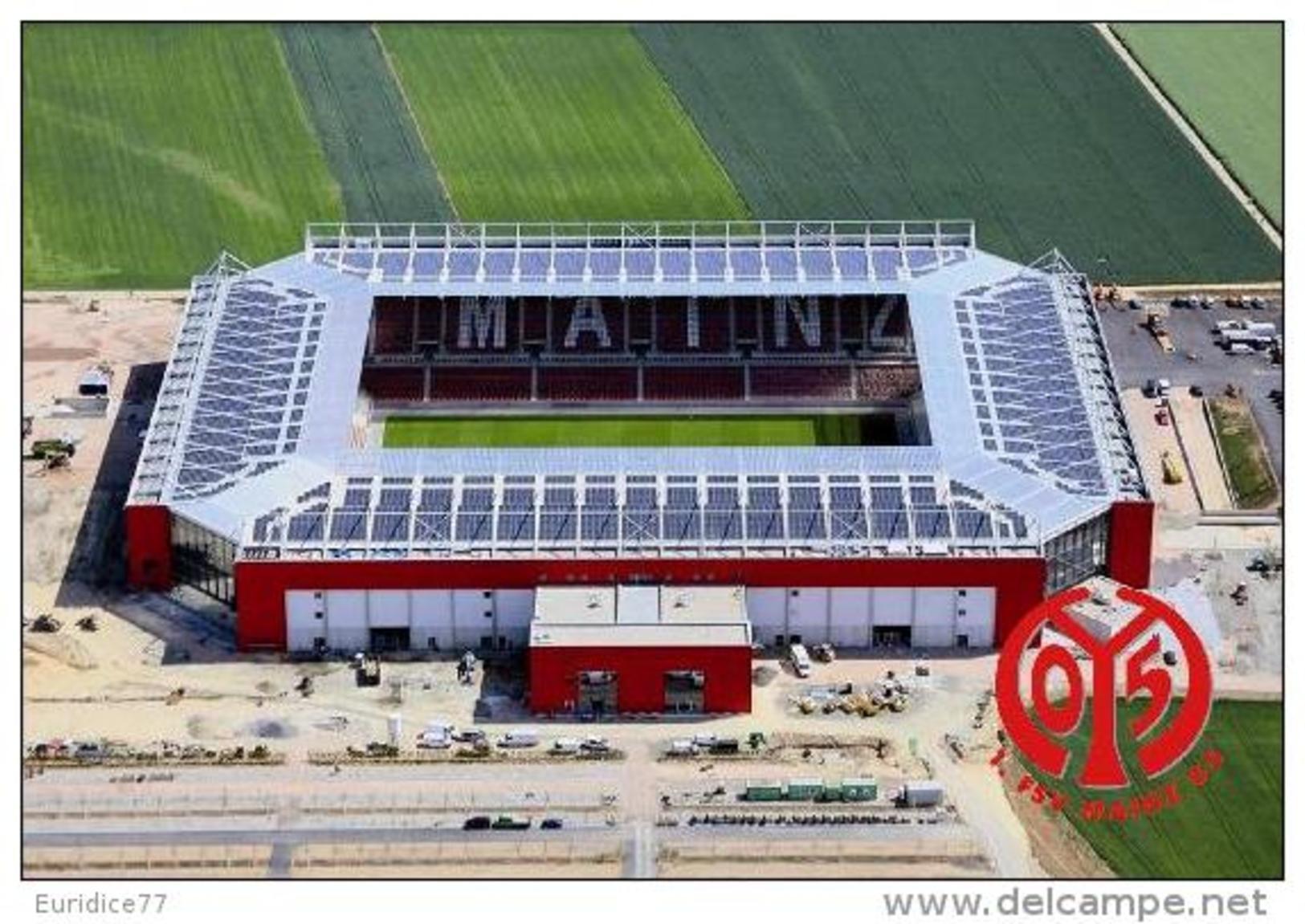 Stadium COFACE ARENA (FSV Mainz 05,Germany) Postcard - Size: 15x10 Cm. Aprox - Fútbol