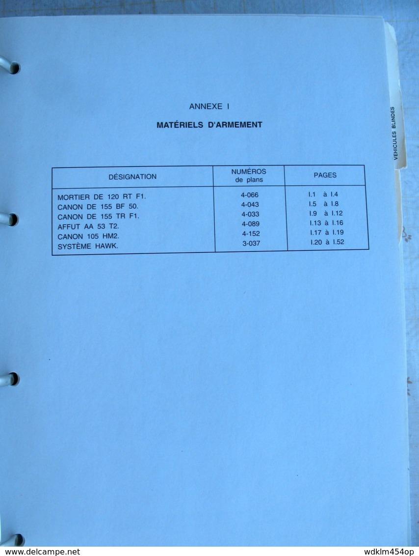 MILITAIRE  MAT 2636 édition 1989/92 INSTRUCTION TECHNIQUE MARQUAGES ET LE CAMOUFLAGE MATERIEL ARMEMENT  BLINDES  ROUES - Livres, Revues & Catalogues