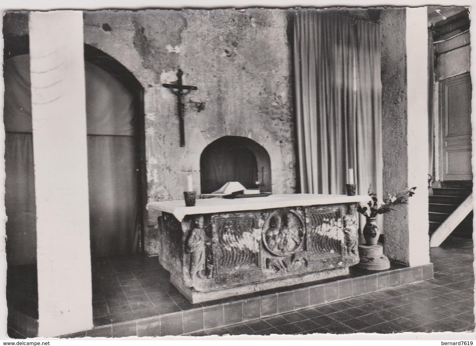 69 Eveux Sur L'arbresle  La Tourette Centre Saint Dominique La Chapelle  Sarcophage Paleochretien - Francia