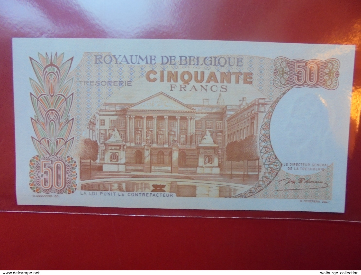BELGIQUE 50 FRANCS 1966 CIRCULER TRES BELLE QUALITE ! - 50 Francs
