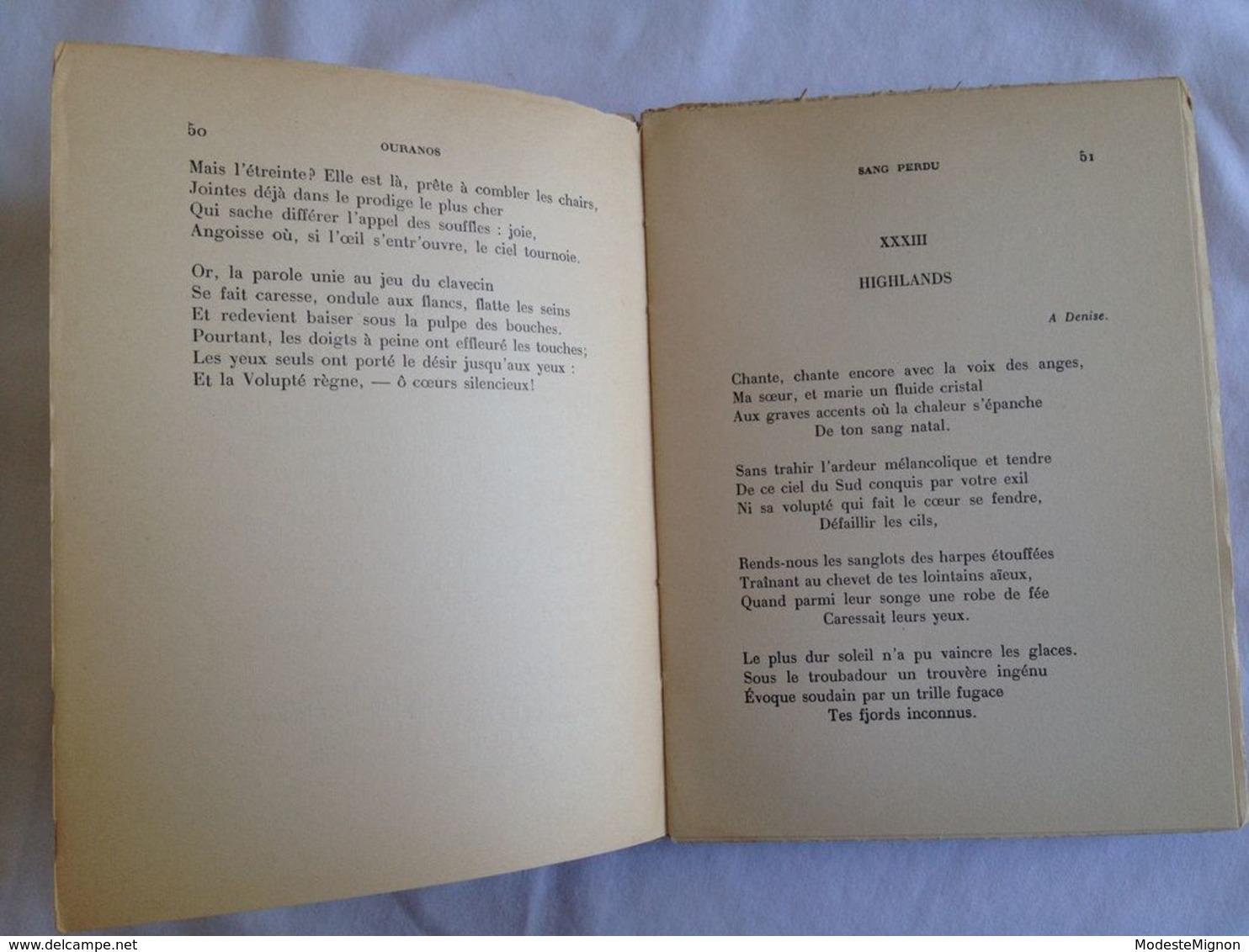 Ouranos Par Yves-Gérard Le Dantec - Livres, BD, Revues