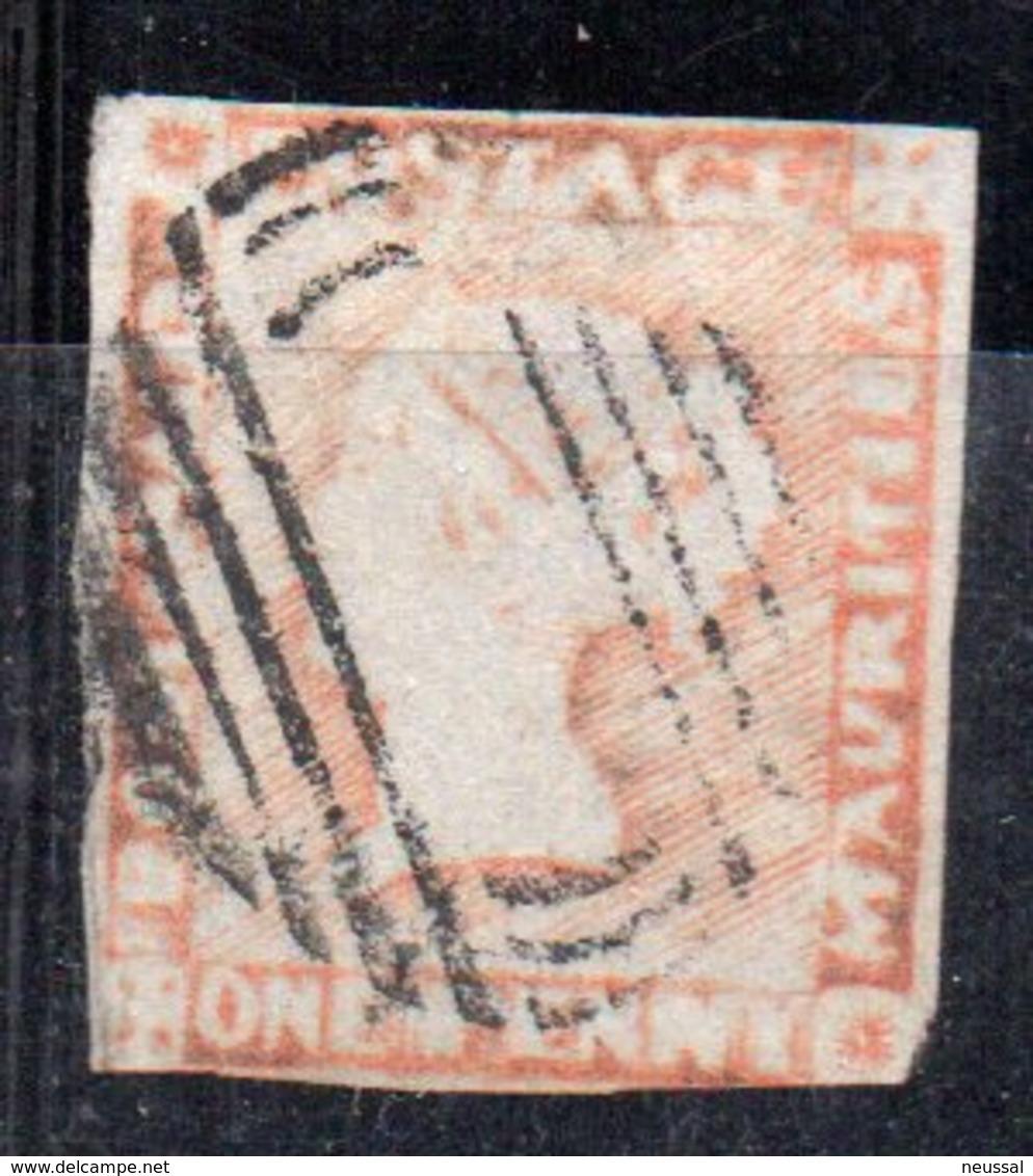 Sello Nº 5b  Mauritius - Mauricio (...-1967)