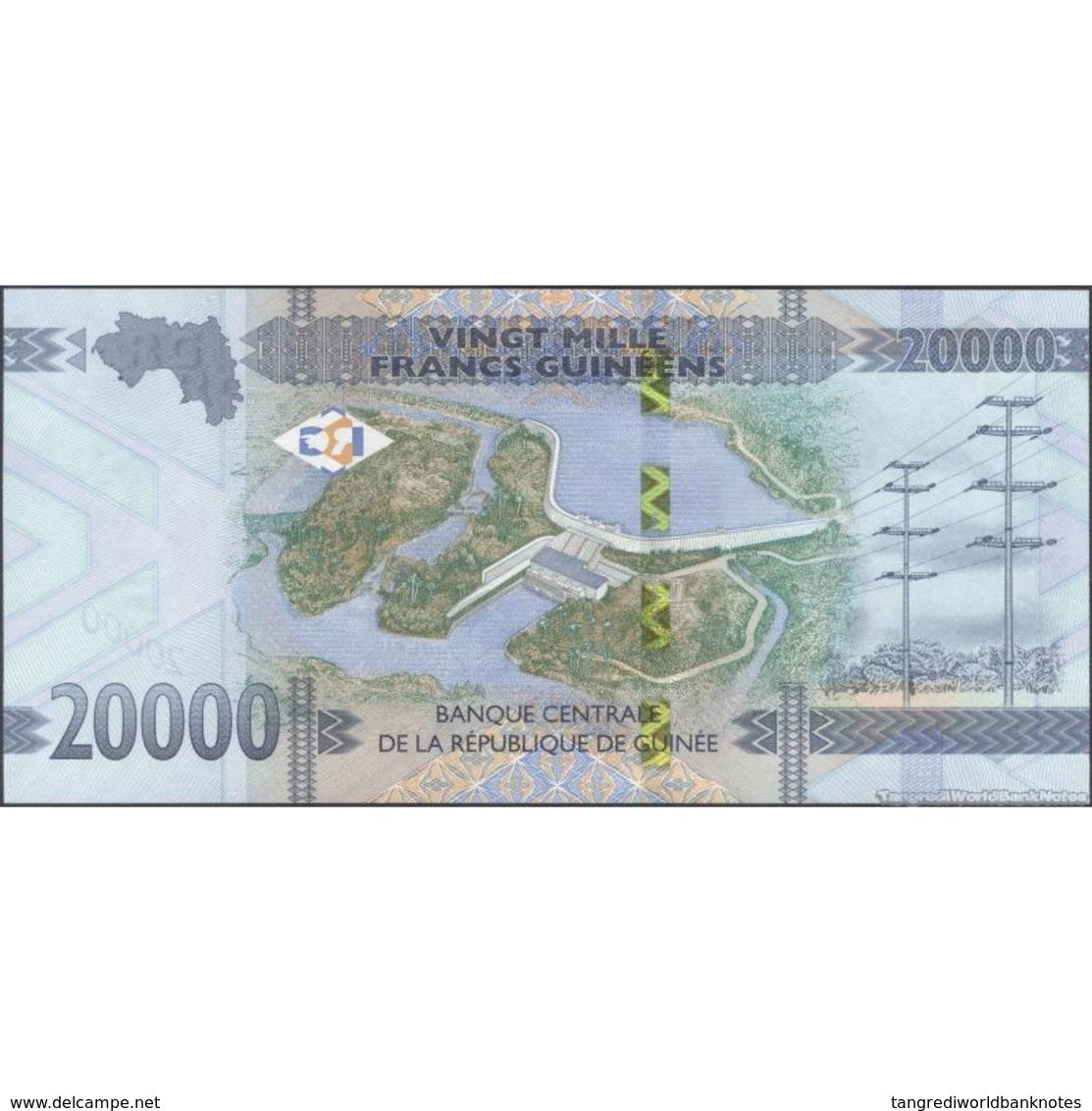 TWN - GUINEA NEW - 20000 20.000 Francs 2018 (2019) Prefix AH UNC - Guinea