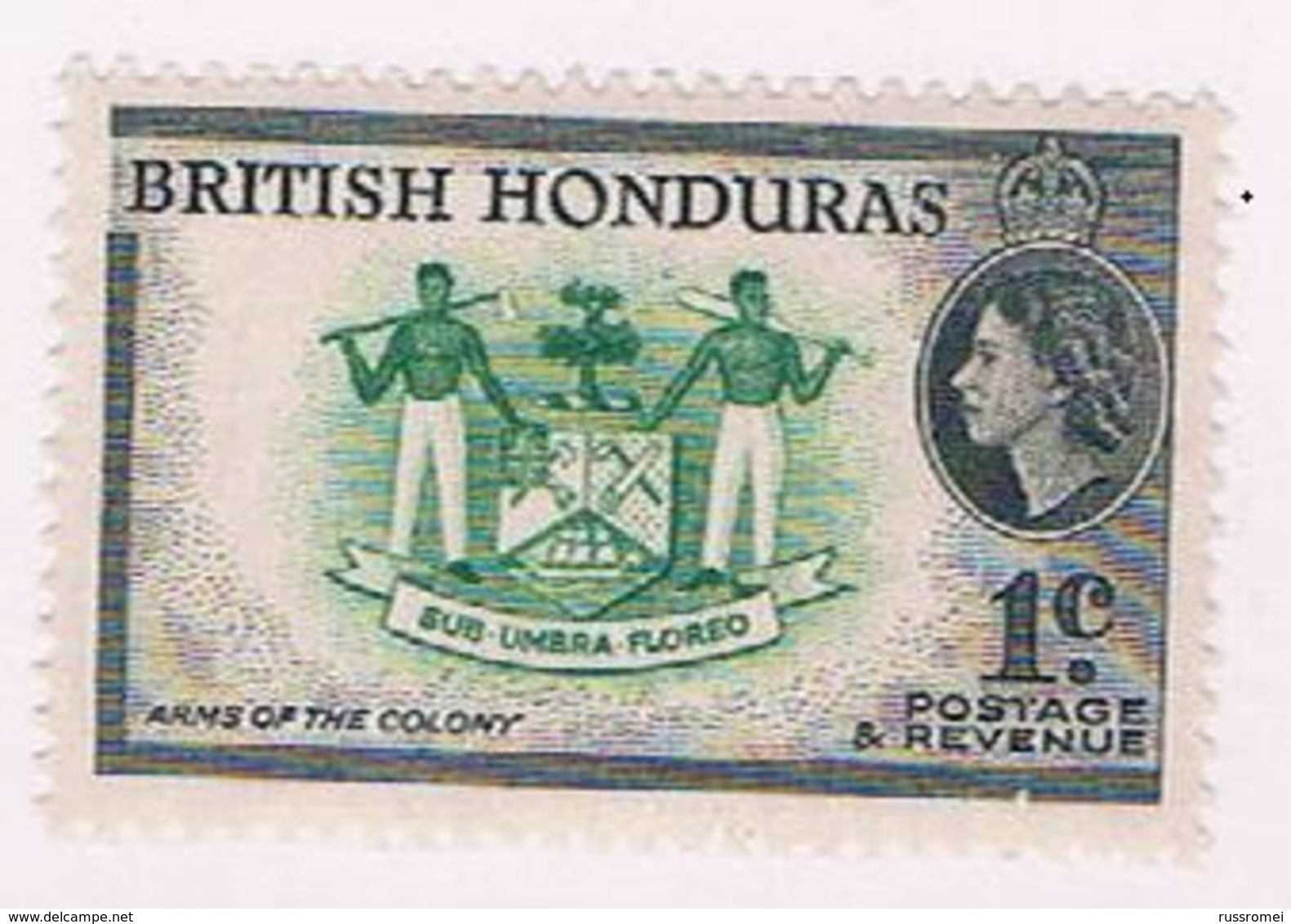 British Honduras 144 MNH Arms 1953 (B0420) - British Honduras (...-1970)