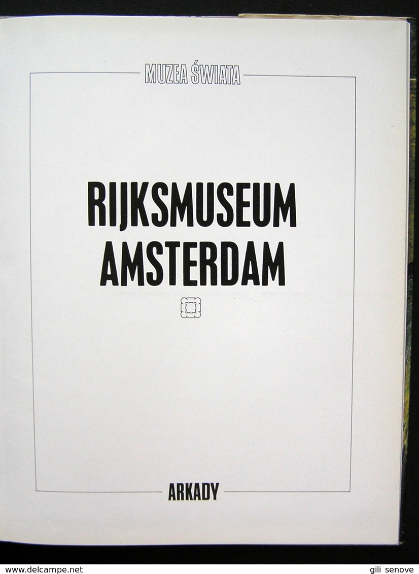 Rijksmuseum Amsterdam 1985 - Kultur