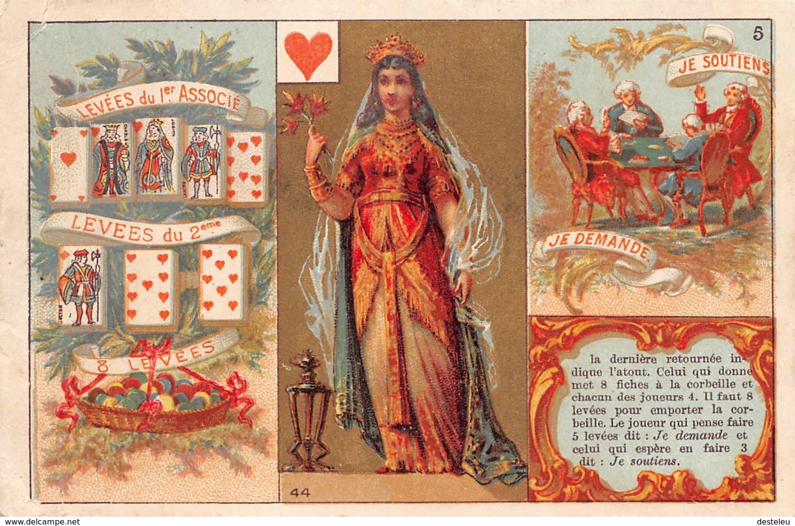 Playing Cards  8 Levées Chcorée Nouvelle Cambrai Card - Jeux Et Jouets