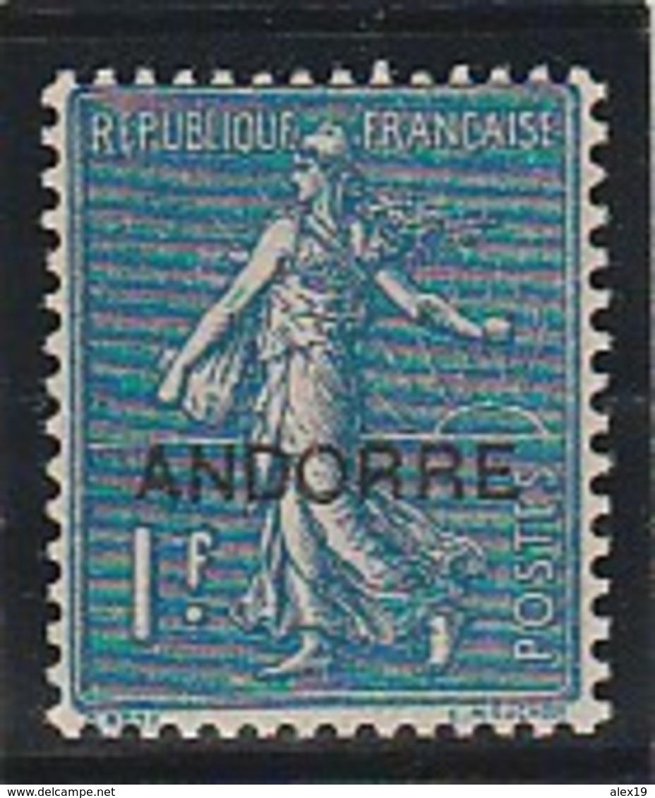 ANDORRE FRANCAIS 18 BIEN CENTRE - Französisch Andorra