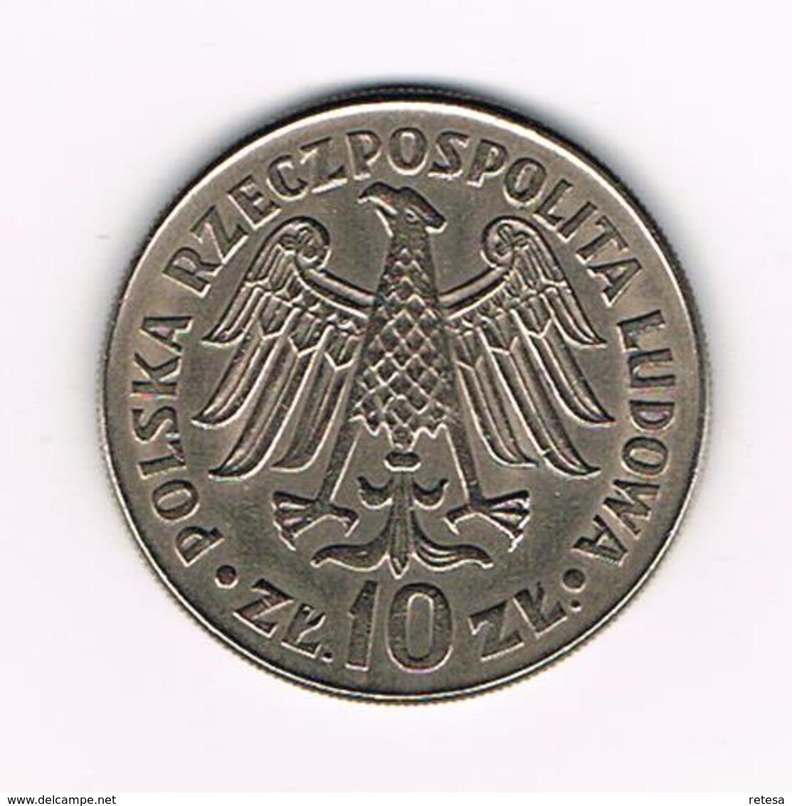 ¨¨ POLEN  10 ZLOTYCH  1964 - 600th ANNIVERSARY Of JAGIELLO  UNIVERSITY - Pologne