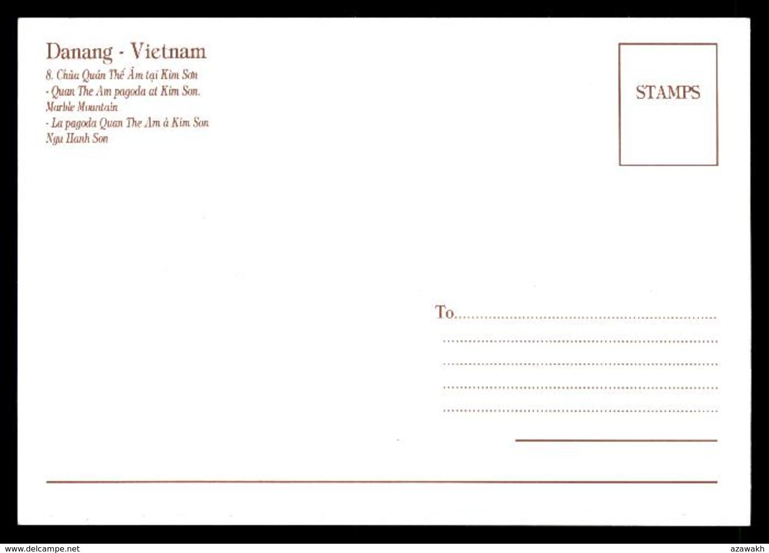 Da Nang Danang La Pagode Quan The Am à Kim Son Ngu Hanh Son - Pagoda - Marble Mountain #03277 - Viêt-Nam
