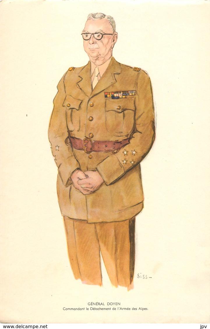 GENERAL DOYEN - Commandant Le Détachement De L'Armée Des Alpes - Né à CABANAC ET VILLAGRAINS - Décédé à VEYRIER DU LAC - 1939-45