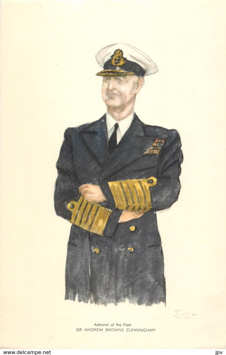 Admiral Of The Fleet - SIR ANDREW BROWNE CUNNINGHAM - Né à RATHMINES - IRLANDE - 1939-45