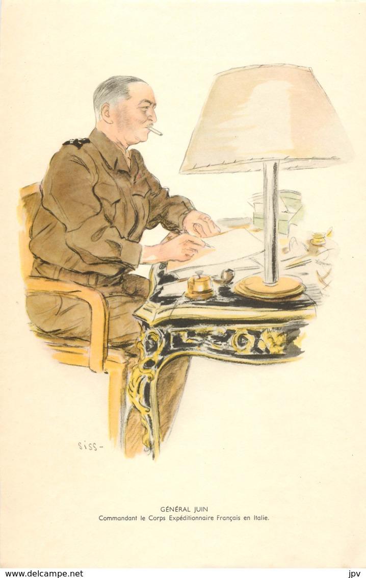 GENERAL JUIN - Commandant Le Corps Expéditionnaire Français En Italie  - Né à BÔNE - 1939-45