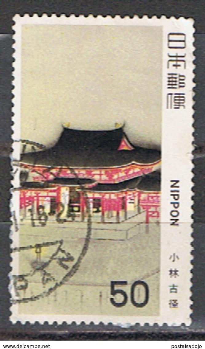 (J 282) JAPON //  YVERT 1319 // 1980 - 1926-89 Emperor Hirohito (Showa Era)
