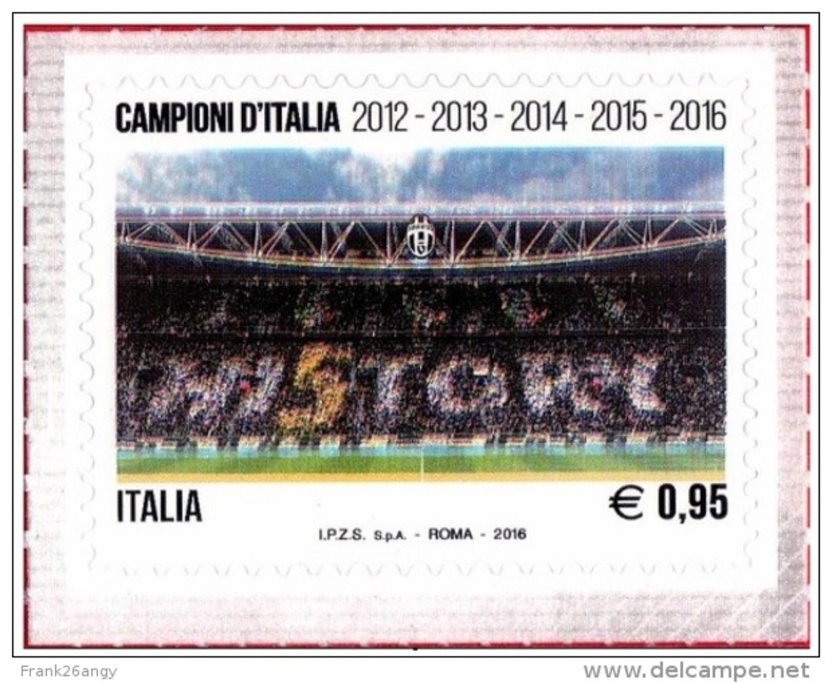 2016 - Juventus Campione D'Italia - Juventus Stadium - HI5TORY  Serie Cpl. 1v.  Nuovo** - 6. 1946-.. Repubblica