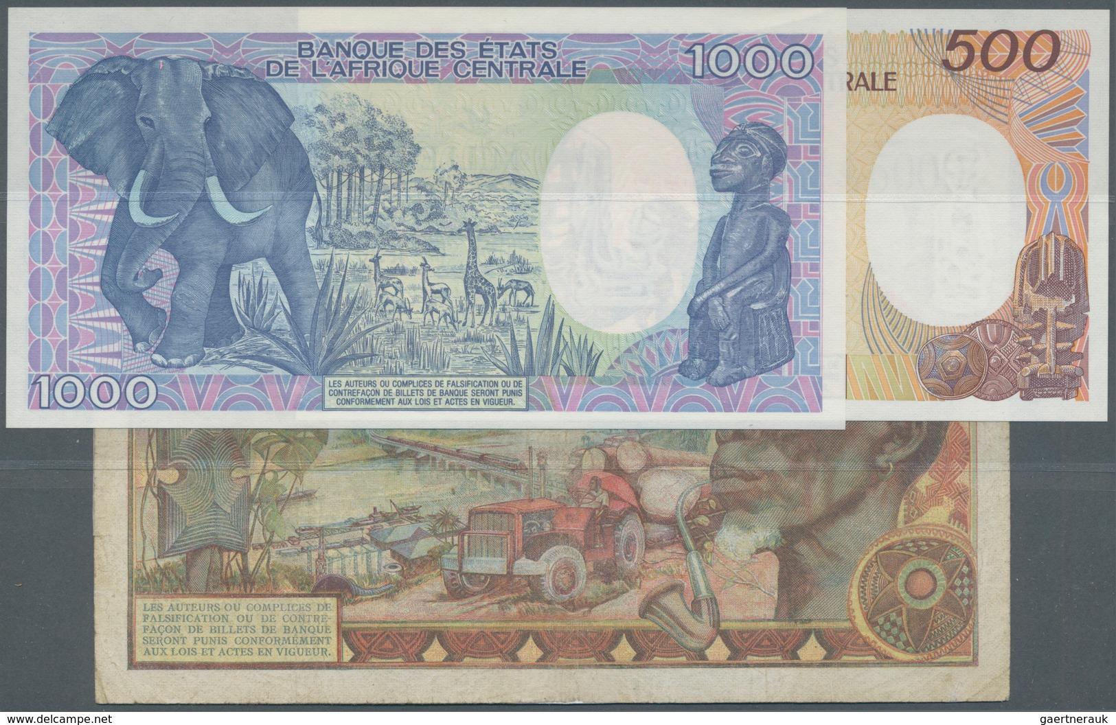 Central African Republic / Zentralafrikanische Republik: Republique Centrafricaine Set With 3 Bankno - Central African Republic