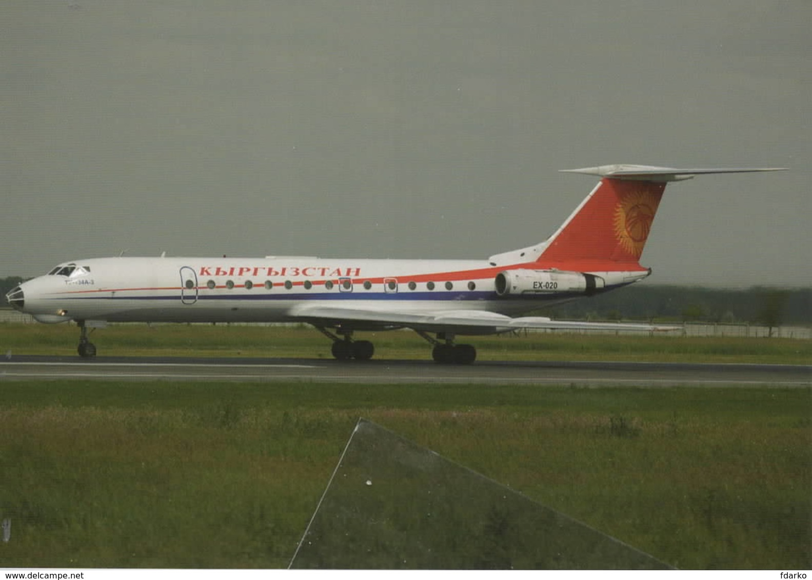 Kyrgyzstan Airlines Tupolev TU-134A-3 EX-020 - 1946-....: Era Moderna