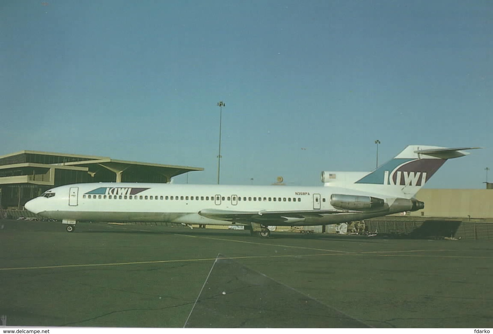 Kiwi International Air Lines USA B.727-230 N358PA - 1946-....: Era Moderna