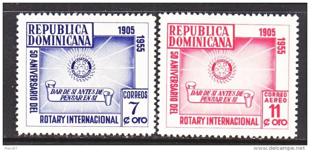 DOMINICAN  REPUBLIC  461, C 90   *  ROTARY  CLUB - Dominican Republic