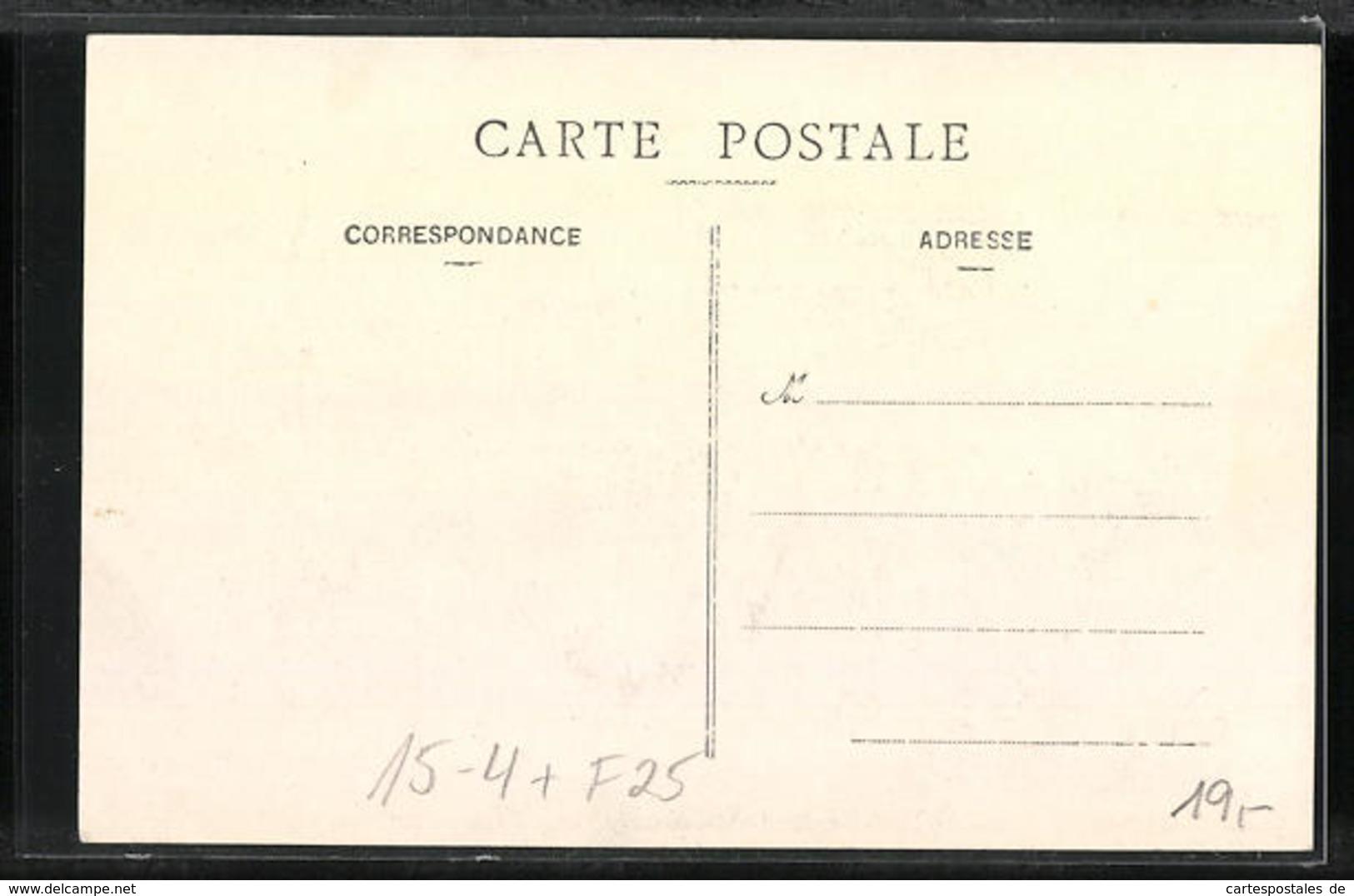 CPA Besancon, Aviation Meeting 1911, Un Avione über Der Stadt, Flugpionier Legagneux - Besancon