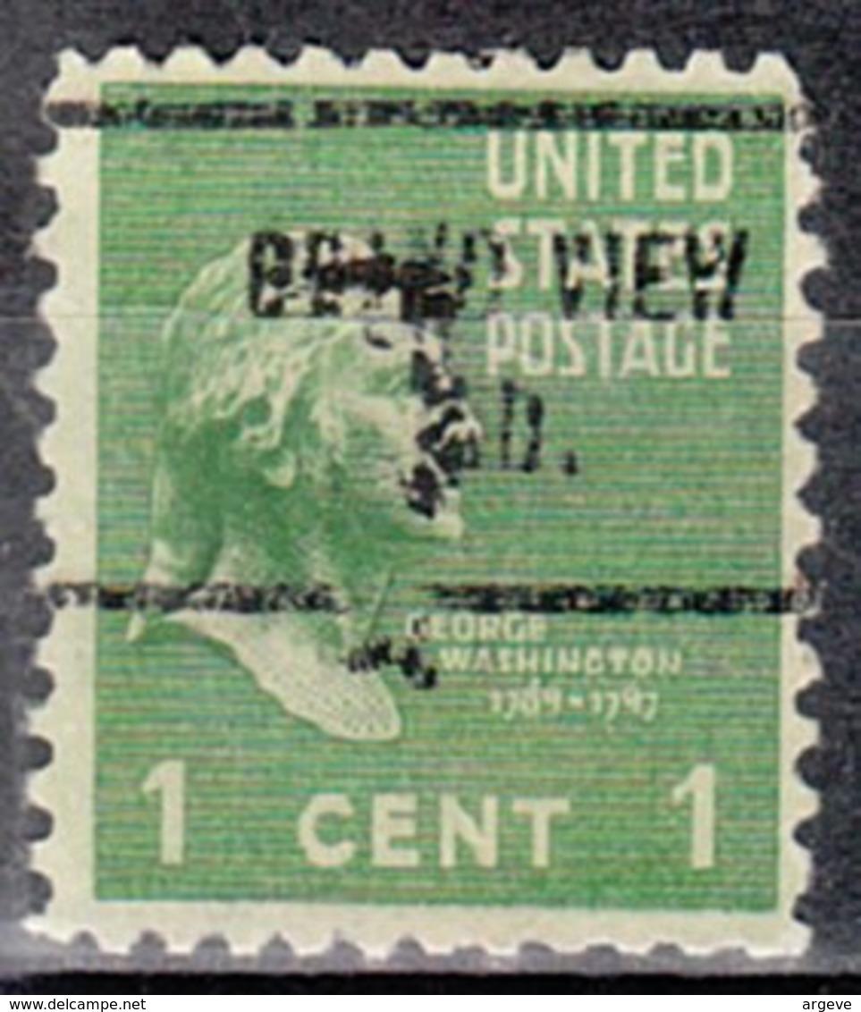USA Precancel Vorausentwertung Preo, Locals Indiana, Grand View 713 - Vereinigte Staaten