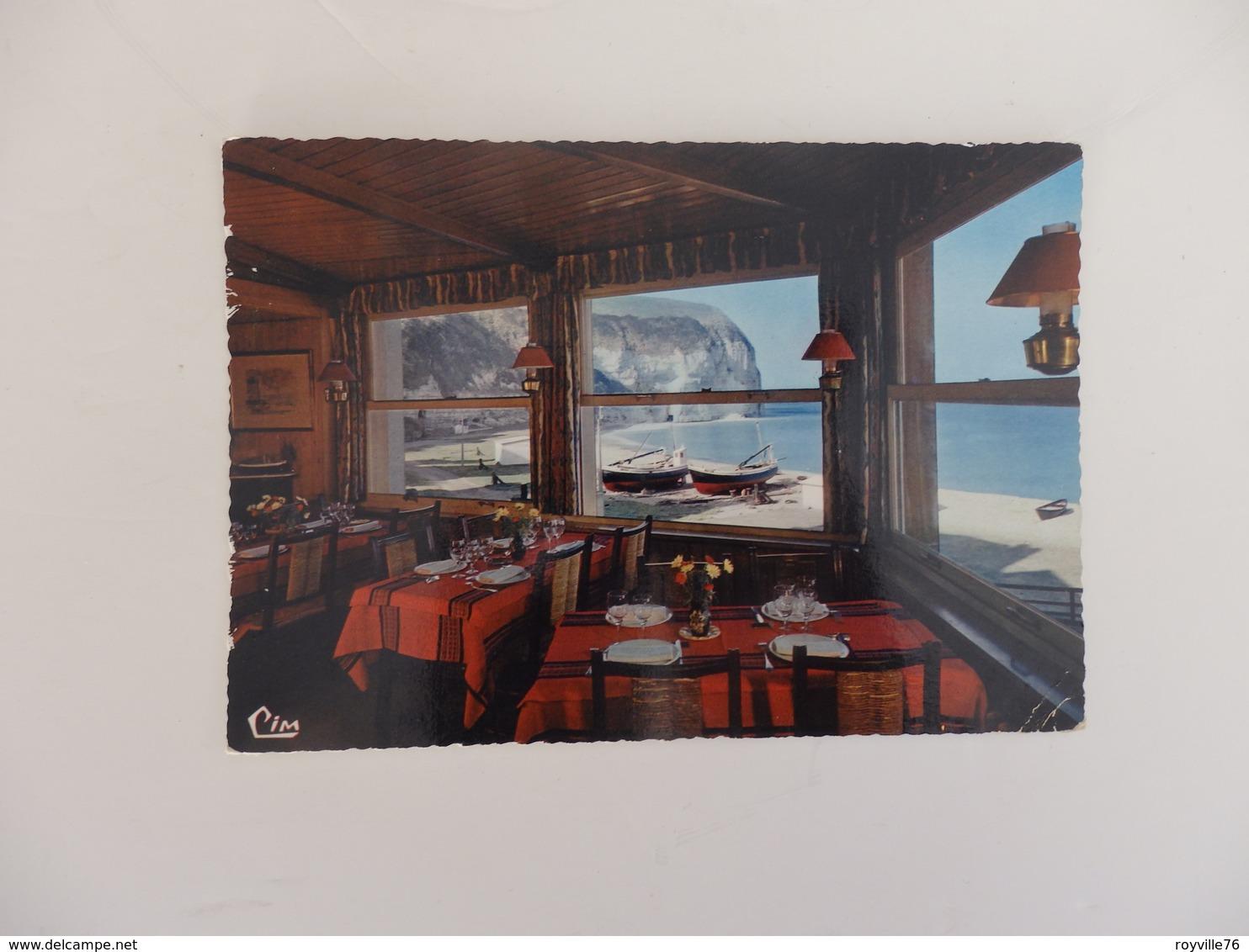 """Yport, Restaurant """"Au Bon Accueil"""" Roger Le Deun Propriétaire. - Yport"""