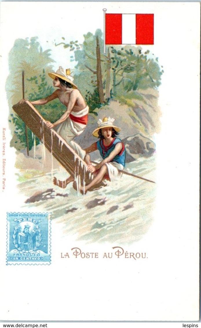 TIMBRES --  La Poste Au PEROU - Stamps (pictures)