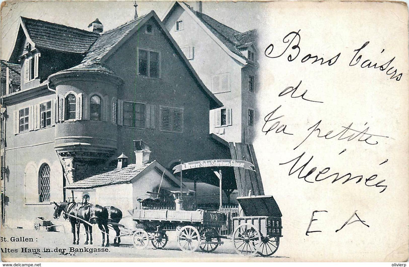 Suisse - St. Gallen - Altes Haus In Der Bankgasse - SG St. Gall