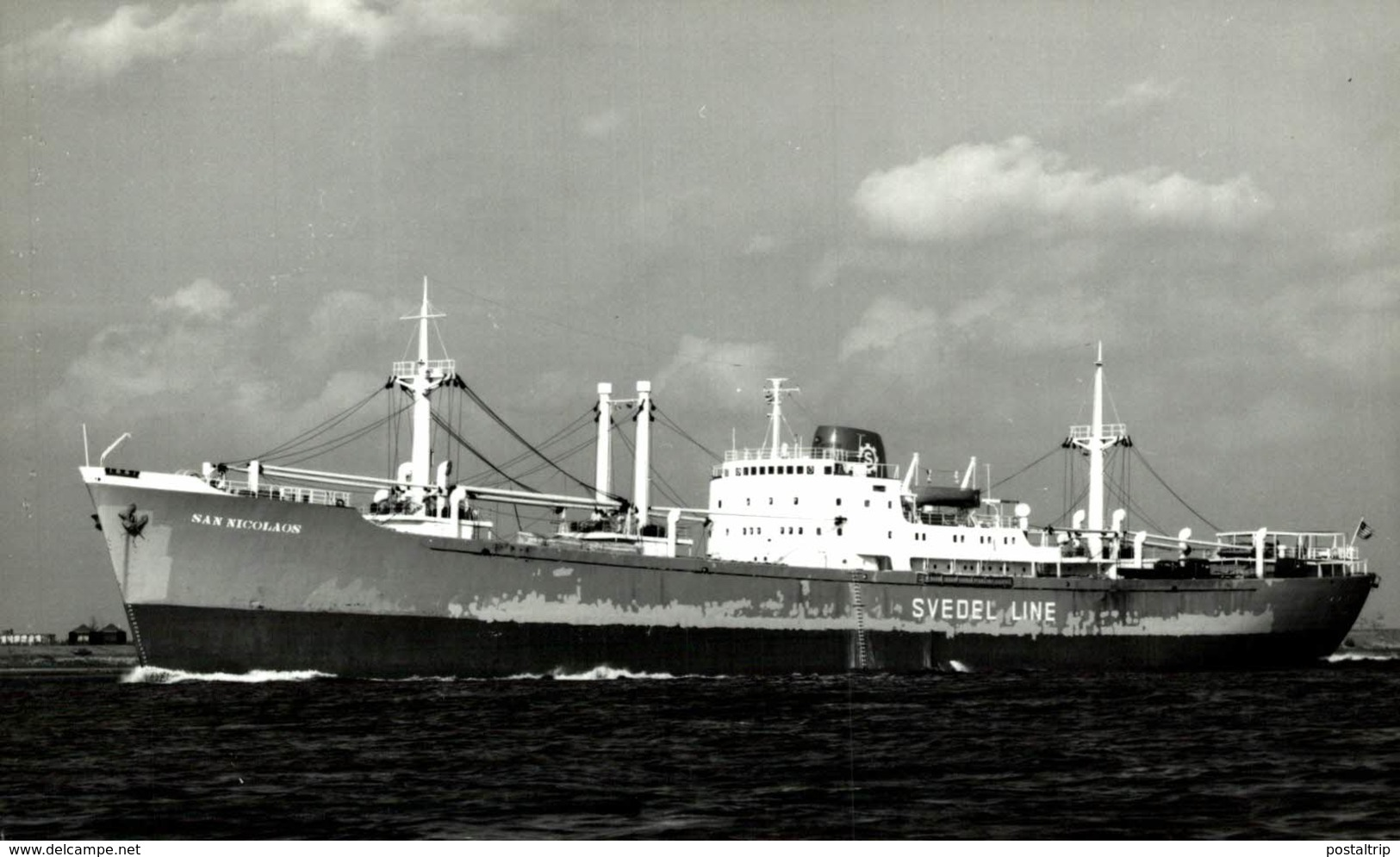 San Nicolaus +-  14 * 9 CM BARCO BOAT Voilier - Schiffe