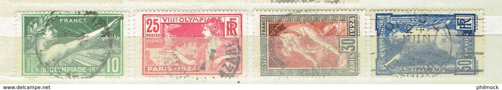 234P - France - N°183-186 - Oblitérés