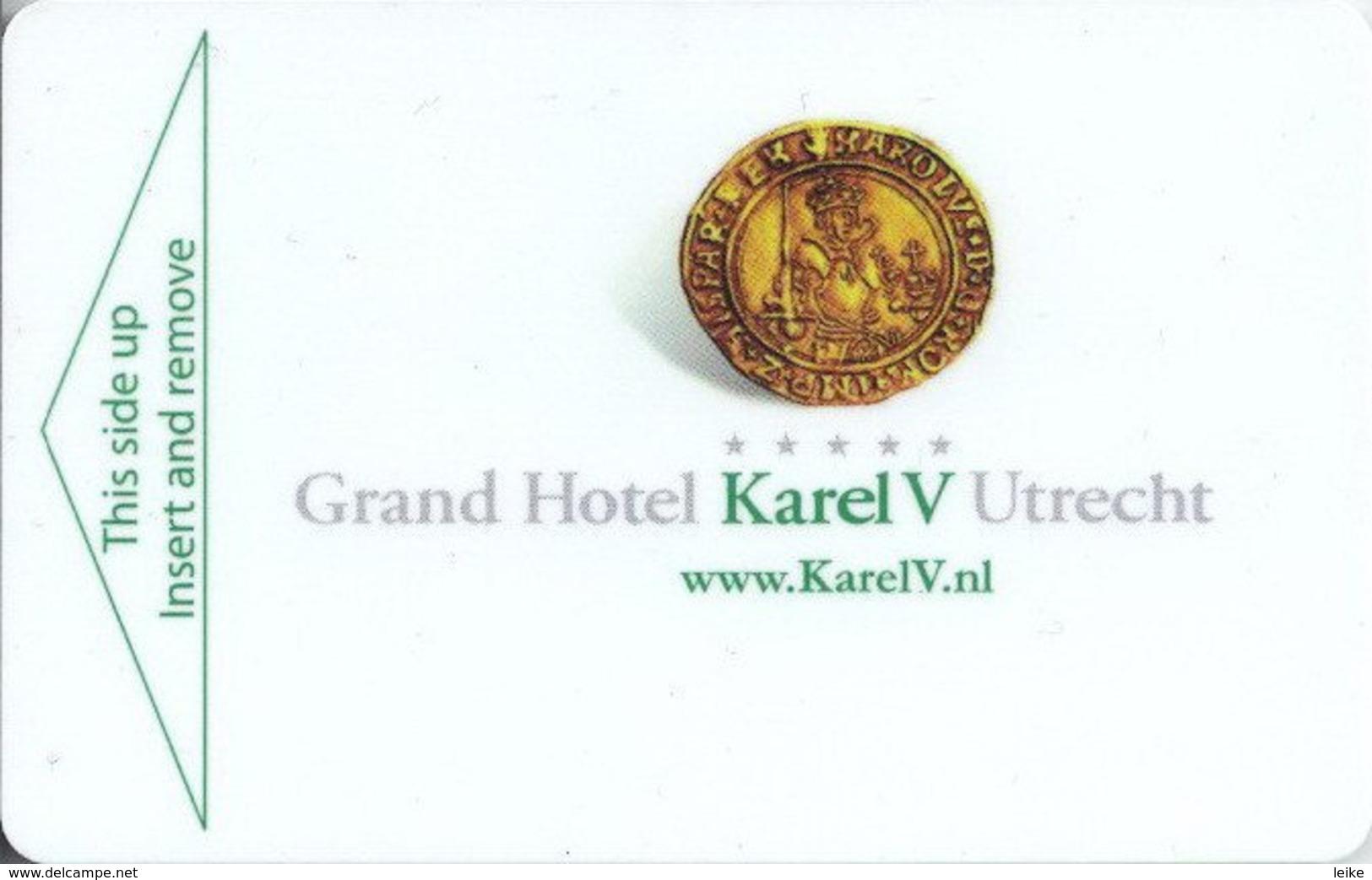 Grand-Hotel-Karel-V[1793]Netherlands- -key Card, Room Key, Schlusselkarte, Hotelkarte - Hotel Keycards