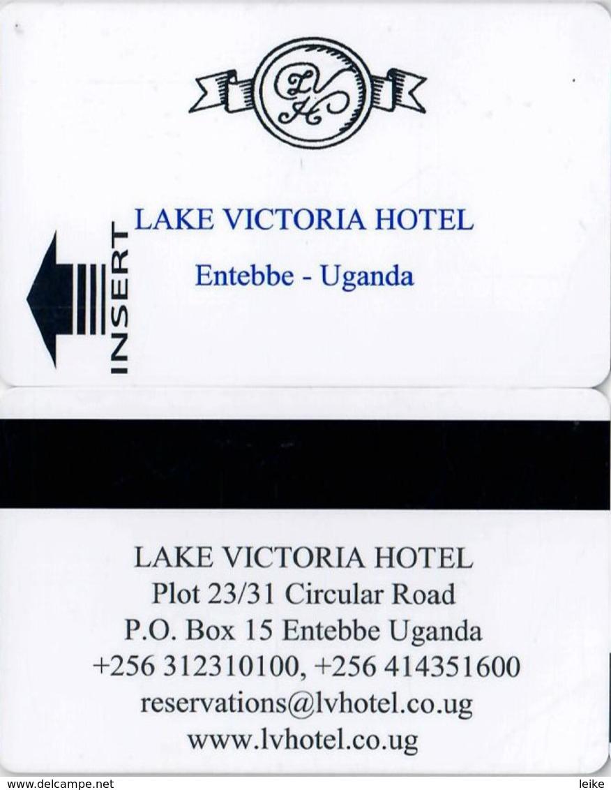 Lake Victoria Hotel Entebbe - Uganda--2030-key Card, Room Key, Schlusselkarte, Hotelkarte - Hotel Keycards
