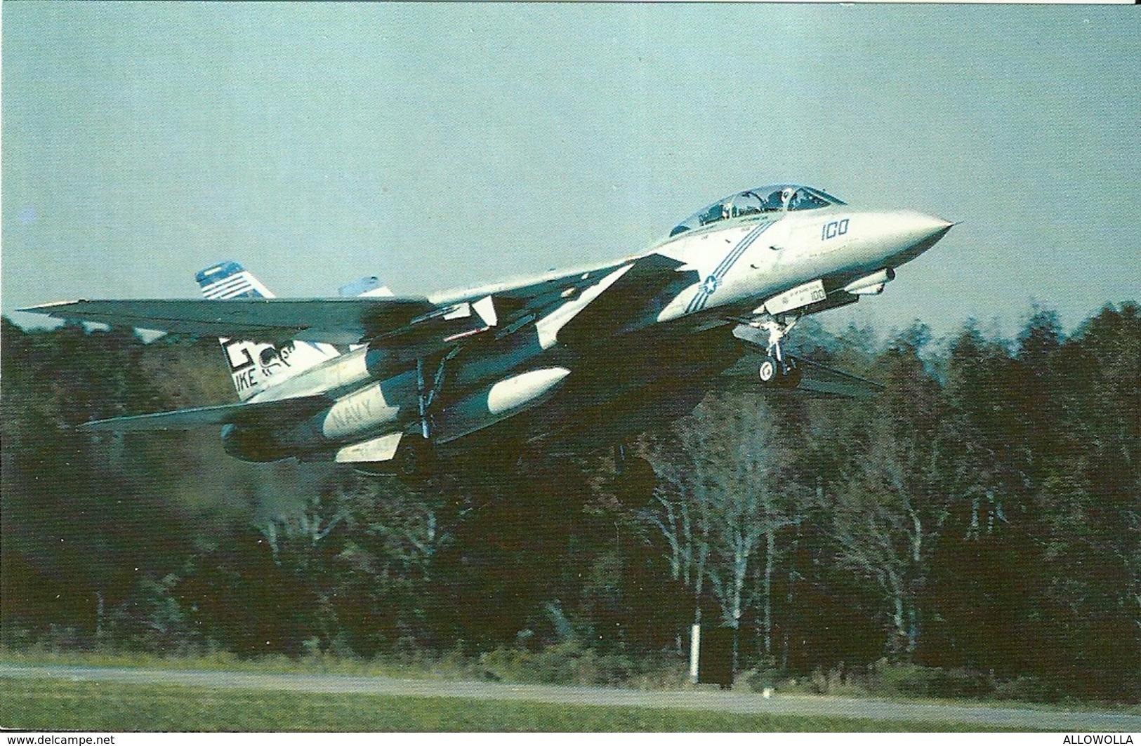 "3667 ""F-14B-TOMCAT"" CARTOLINA POSTALE ORIG. NON SPEDITA - 1946-....: Era Moderna"