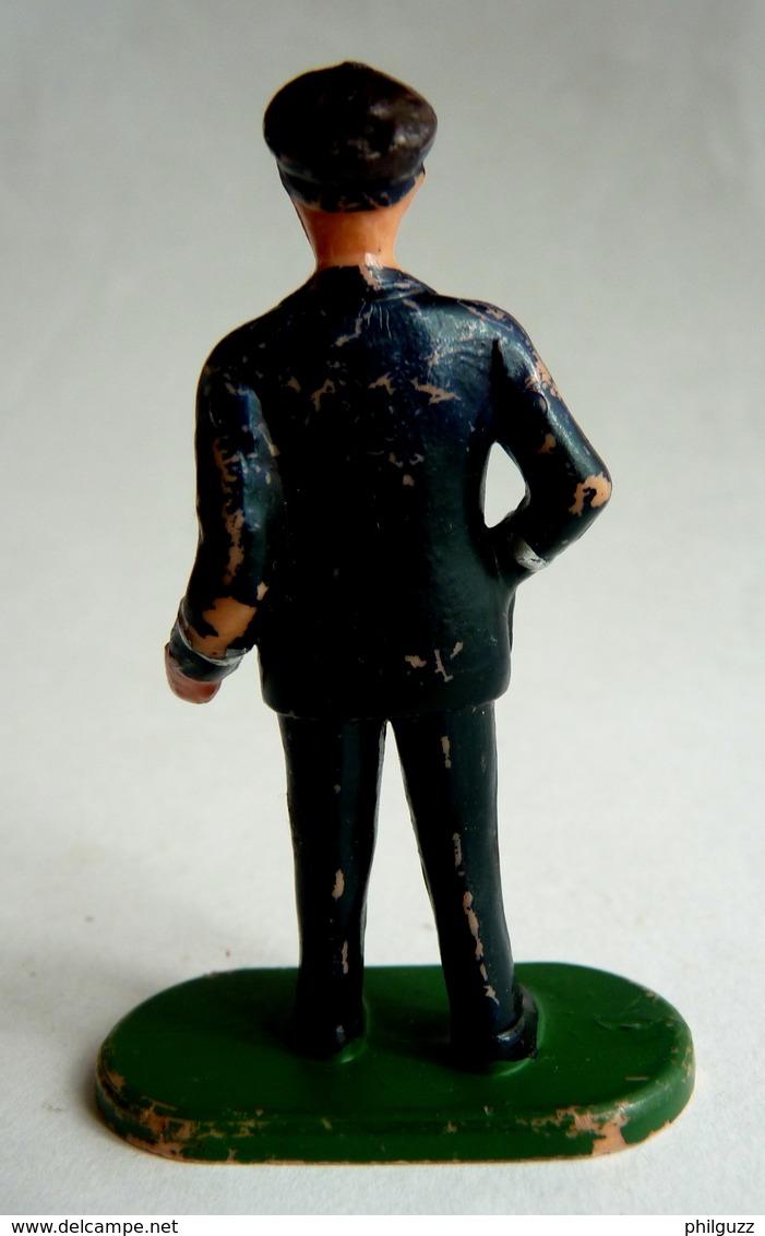 FIGURINE ELASTOLIN / OUGEN PUBLICITAIRE AIR FRANCE PILOTE - Figurines